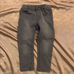 Gray Toddler Jeans
